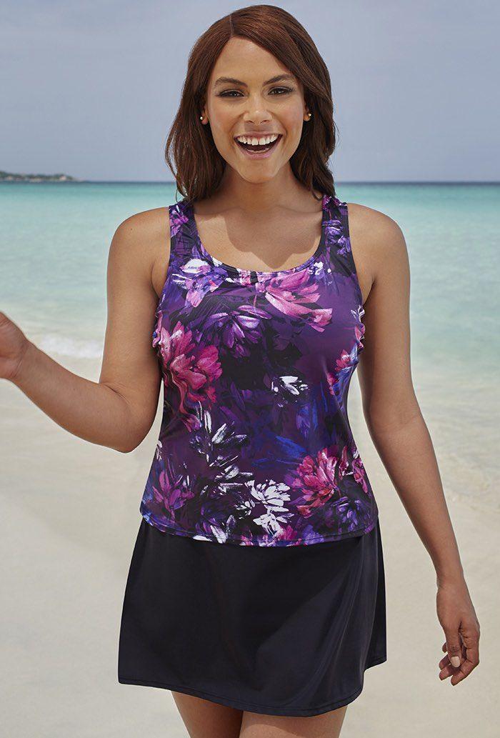 Beach Belle Lotus Classic Skirtini