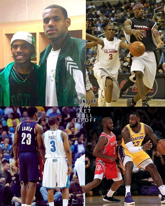 a8bcf9e2dd15c8 Is there a greater basketball playing friendship in the NBA!  cp3   lebronjames  lebron  kingsjames  cp3lebron