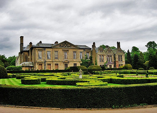 Since the School of Apiology used to be a hotel before Headmistress Root bought it and renovated, this old hotel is a great inspiration. It even has gardens for the bees! Coombe Abbey Hotel, Coventry.