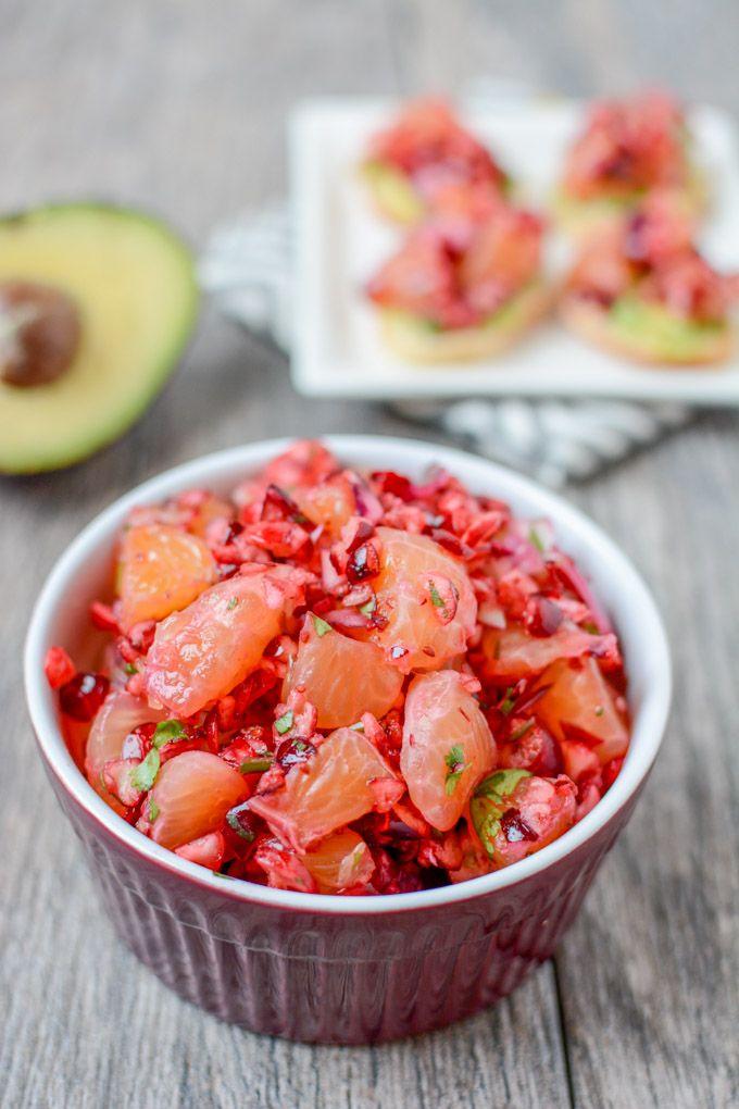 Cranberry Clementine Salsa
