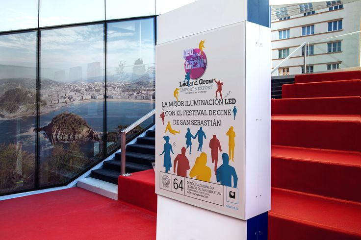 La mejor #iluminación #led con el festival de #cine de #SanSebastian http://www.sansebastianfestival.com https://ledandgrow.com