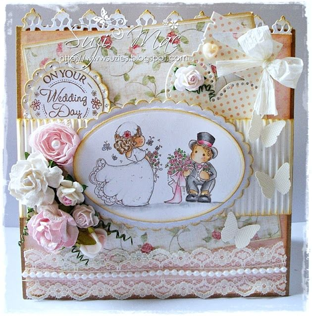Sugar n Spice: Magnolia-licious/Wee Stamps DT - Love is in the Air