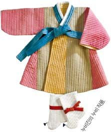 한국 전통 손누비는 반복되는 홈질로 문양을 표현하는 예술이다. 여기에 천과 천을 덧대 누비니 옷의 보온성은 높아지고 쉽게 해지지 않는다. 최근 손누비의 이러한 가치를 알아보는 이들이 늘고 있다.  착용감 부드럽고 활동하기 편해  서울 삼청동에 자리한 공방 '누비진(대표 진미숙)'에는 매주 수·토요일 손누비