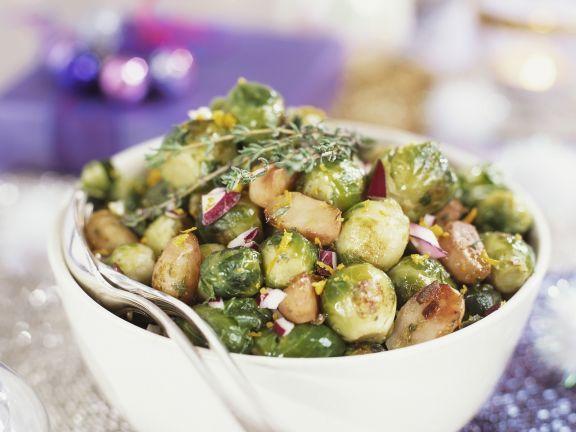 Rosenkohlgemüse mit Speck und Zwiebeln ist ein Rezept mit frischen Zutaten aus der Kategorie Zwiebelgemüse. Probieren Sie dieses und weitere Rezepte von EAT SMARTER!
