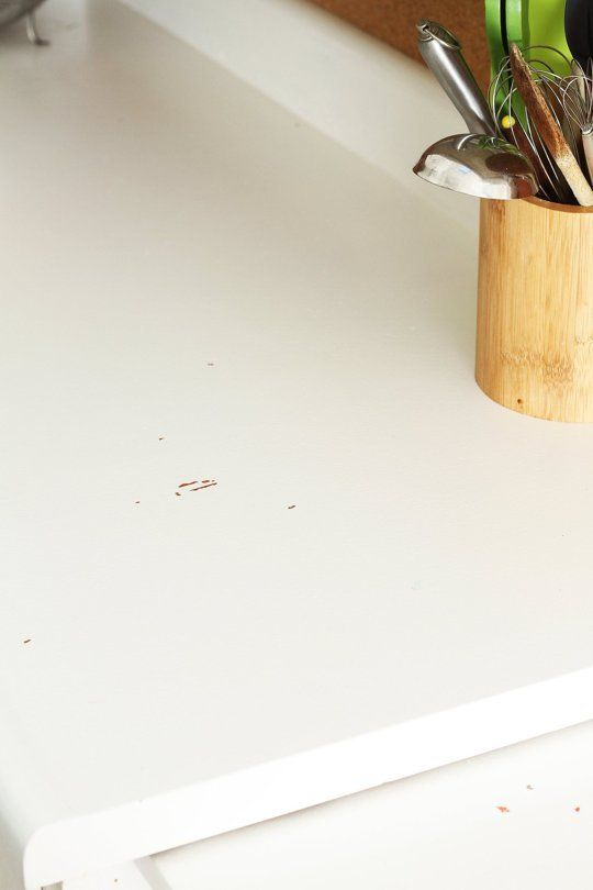 How My Painted Laminate Countertops Are Holding Up | Apartment Therapy