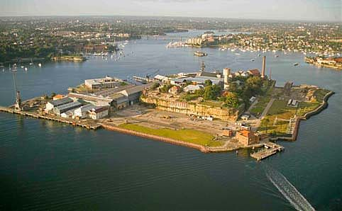 SYDNEY'S ISLANDS Cockatoo Island - Sydney Harbour's largest island. Used as a prison / reform school for girls / naval training school for boys / naval shipbuilding and repairs dock. 2007: island opened to the public. Venue for cultural festivals (Biennale, Outpost, Underbelly Arts, Cockatoo Island Film Festival). 2008: X-Men Origins: Wolverine was filmed here. Audio tours ($5). Ferries from Circular Quay. Camp from $45 or  Glamp for $145! Can sleep, play tennis, BBQ or drink at the Island…