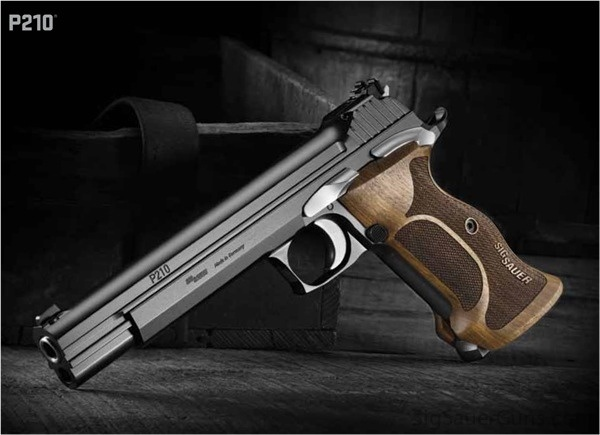 Sig Saur P210 Legend...OH MY!! Would I ever love to hold and shoot this beauty!