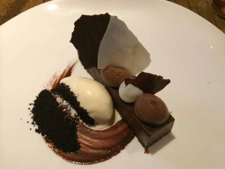 Chocolade dessert Saint Crispin Masterchef Australia