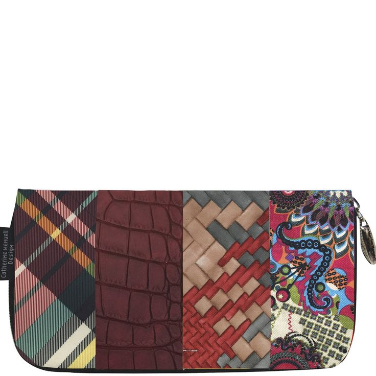 Patch Wallet - W16 mix - Catherine Manuell Design