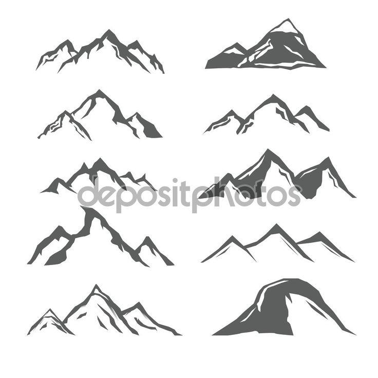 векторная графика гор - Поиск в Google