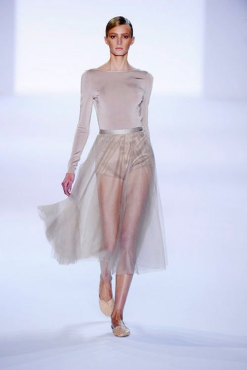 More sheer skirt looks here - http://dropdeadgorgeousdaily.com/2014/02/sheer-pencil-skirts/