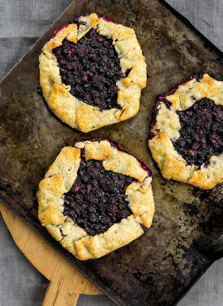 Black-and-Blue Berry Galette