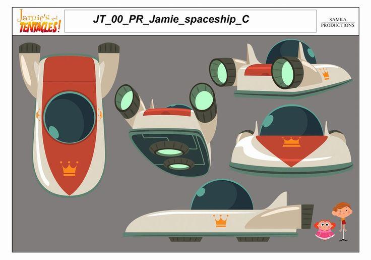 Props e efeitos especiais do seriado Jamie's got Tentacles   THECAB - The Concept Art Blog