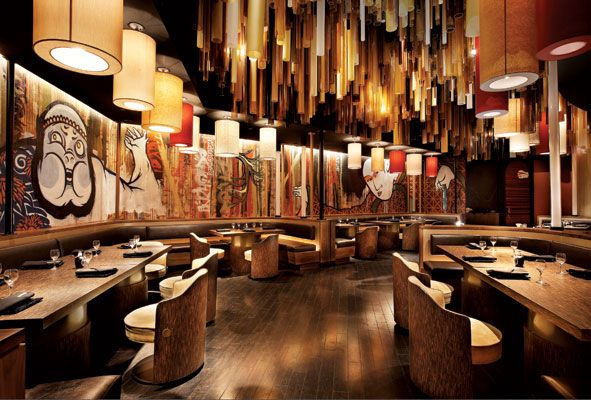 17 best ideas about japanese restaurant interior on for Koi sushi aix