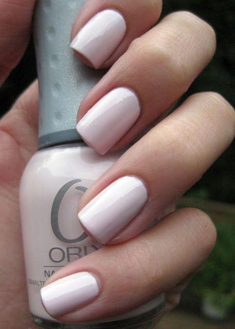 "Orly nail polish in ""Kiss The Bride"" - i love thissss"