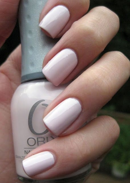 "Orly nail polish in ""Kiss The Bride"" - i love thissss"