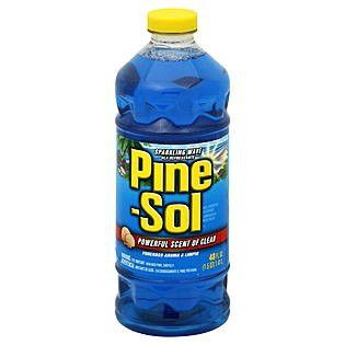 Pine-Sol Sparkling Wave For All Purpose Cleaner By Clorox - 28 Oz Each,12 /Pack Free Shipping