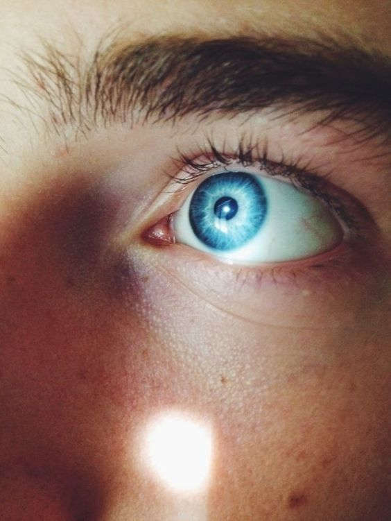 Discover the science behind why you've been living a lie if you have blue eyes!