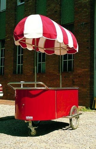 chariot glace usage professionnel esteva projet. Black Bedroom Furniture Sets. Home Design Ideas