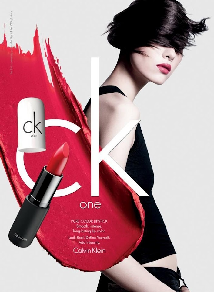 Ad Campaign: ck one color cosmetics, Spring/Summer 2012