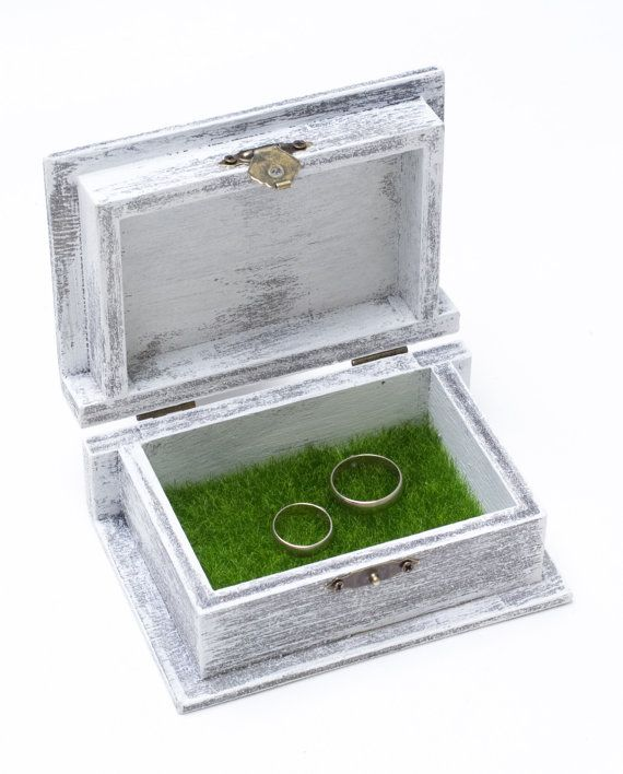 Ring bearer fake wedding rings