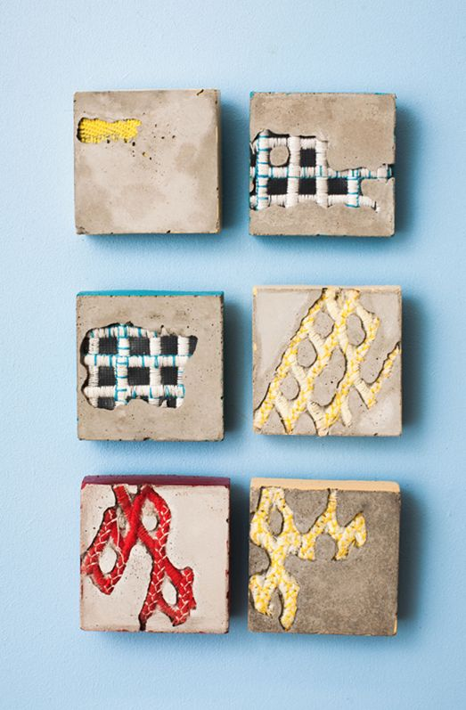 Bethany Walker - cement and textiles