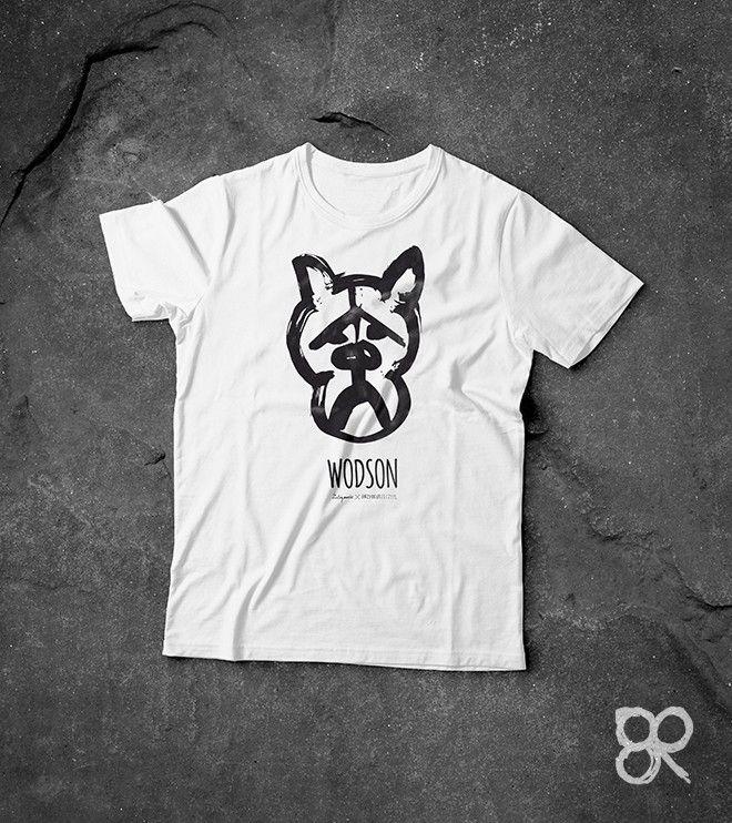 WODSON - koszulka z psem