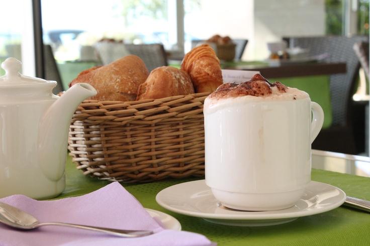 Breakfast in France! Lovely!