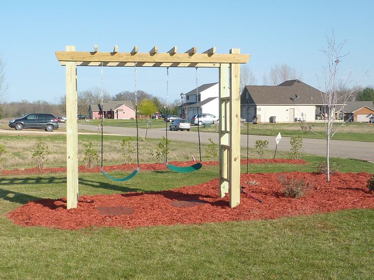 how to build a sturdy swing set woodworking projects plans