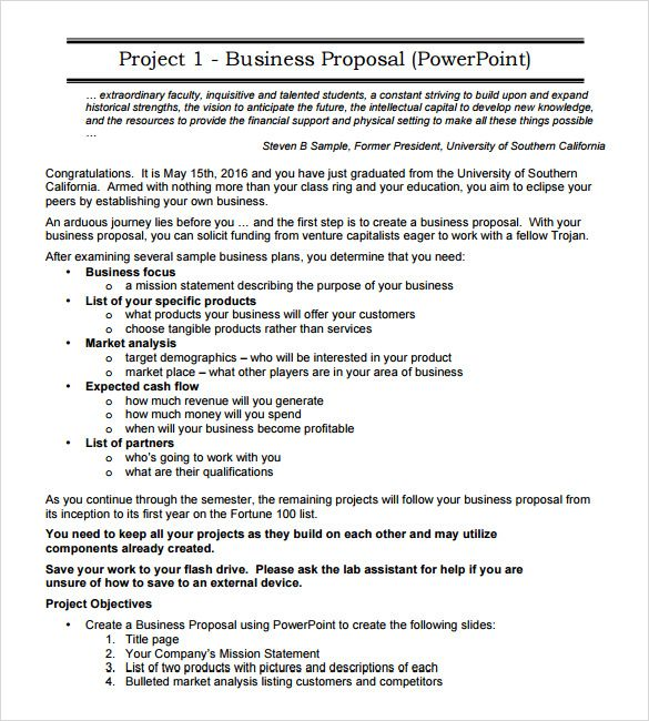 Sample Business Proposal 18 Documents In Pdf Word Gyogybolt Sample Template Document Photos Gyogyboltinfo