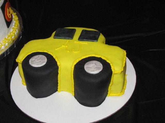 E Car >> Car Birthday Party Ideas | Abogados | Pinterest | Smash cakes, Cake and Birthdays