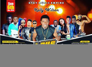 Singer Kelly Wilson set to hold Love Concert on Lagos   Whatsapp / Call 2349034421467 or 2348063807769 For Lovablevibes Music Promotion                               Stay Music Empire                                  Presents                             KELLY WILSON                                   In                          LOVE Concert 2016                #BOOM & #YOUR LOVE Premiere by Kelly Wilson                                Ticket: #1000 Date: Sunday 6th November 2016. Time: 3pm Red…