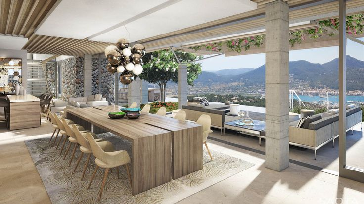 ES Villa Mallorca: Overlooking the Port d'Andratx, this multi-level villa blends naturally into its surrounding landscape. The free-flowing design...