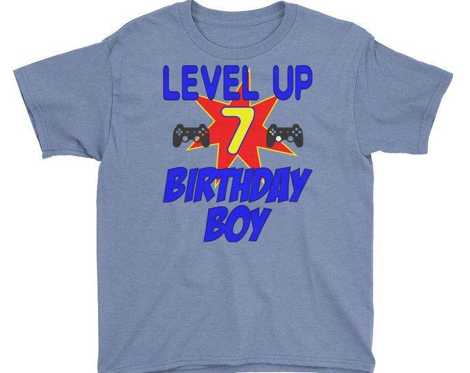 Birthday Shirt Boy Gamer T For Kids Boys 7 8 9