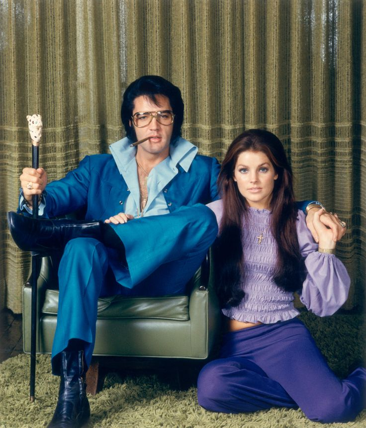 Elvis Presley and Priscilla Ann Wagner by Frank Carroll, 1969