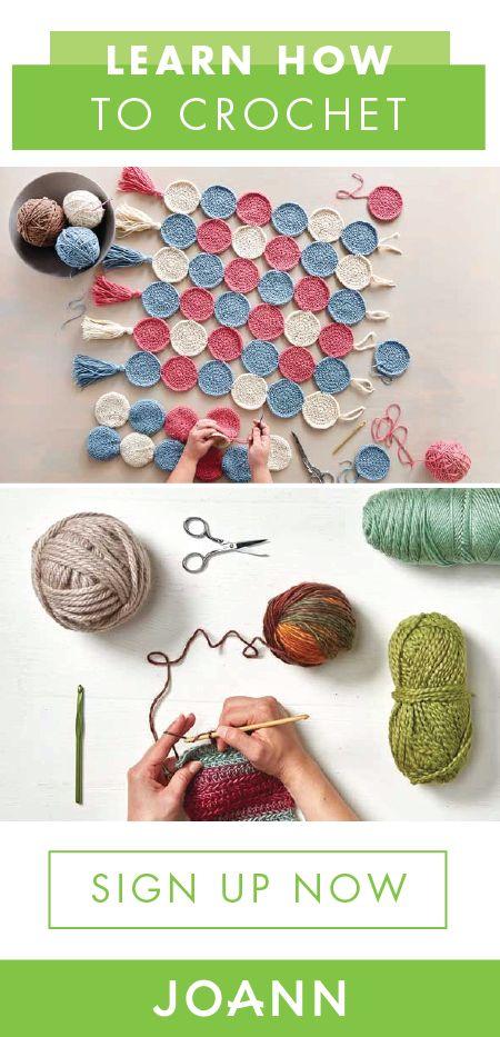736 best Crochet with JOANN images on Pinterest | Crochet ... - photo #13