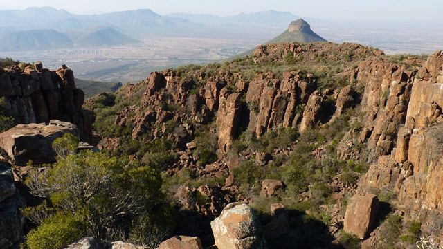 Valley of Desolation in the #Karoo #GraaffReinet in the 5th Wonder of our World. The Valley of Desolation is situated in the Camdeboo National Park.
