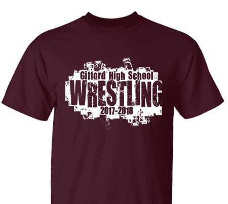 high school impressions custom athletic wrestling tees create your own design for t shirts hoodies sweatshirts choose your text ink and garment colors - School T Shirt Design Ideas