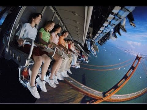 """Soarin'- this ride is AMAZING!! They even pipe in smells of pine trees, orange blossoms, the ocean- whenever you """"soar"""" over the different scenery. I LOVE SOARIN'!!!!"""