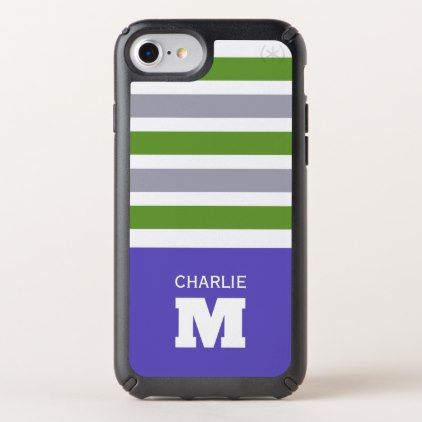 Stripes Pattern Custom Monogram phone cases - trendy gifts cool gift ideas customize