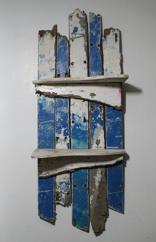 17 best ideas about driftwood shelf on pinterest for Driftwood wall