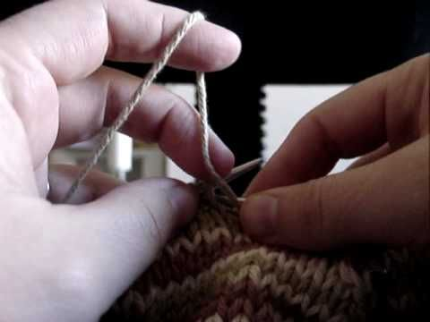 K2, YO, P2tog demonstration Knitting tutorials Pinterest Watches and Yo...