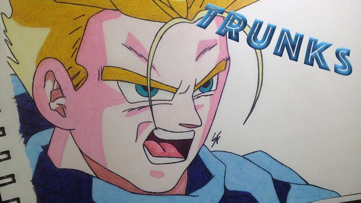Drawing Trunks Super Saiyan (Dragon Ball GT Universe)