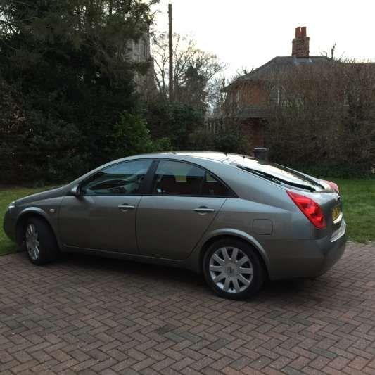 Used (06 reg) Grey Nissan Primera 1.8i SX 5dr for sale on RAC Cars