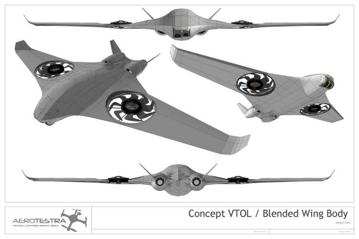 THE NEW CONCEPT UAV - DIY Drones