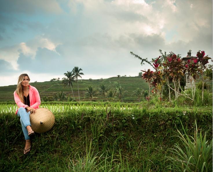 linda la Trini Segura en indonesia!!! // campaña Maui Woman
