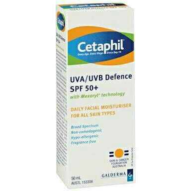 Cetaphil UVA/UVB Defence 50ml SPF 50