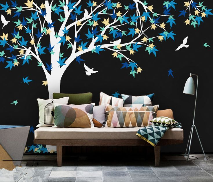 Cheap Sticker For Kids Room, Buy Quality Vinyl Wall Stickers Directly From  China Wall Stickers For Kids Suppliers: Large Mural Large Canada Maple Tree  Wall ... Part 86