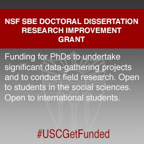 Nsf dissertation improvement grant science technology society     Research Design and Proposal Writing in Spatial Science