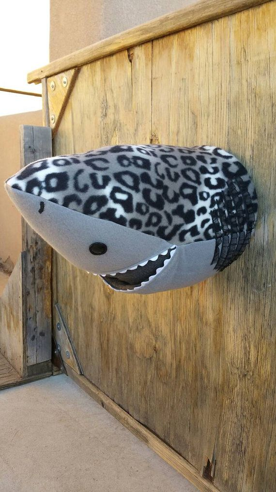 Check out this item in my Etsy shop https://www.etsy.com/listing/400147589/shark-faux-taxidermy-head-grey-with